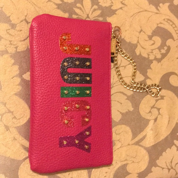 Juicy Couture Handbags - Cute juicy wrist pouch to carry around